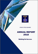 Strata Titles Boards Annual Report 2018